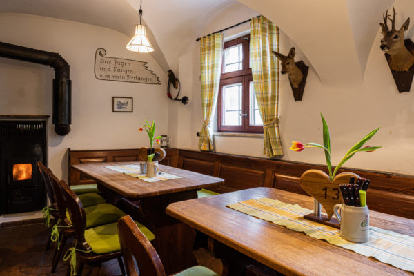 Bietet Platz für 15 Gäste